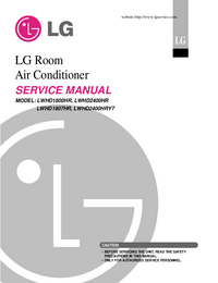 Servicehandboek LG LWHD1807HR