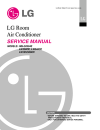 Servicehandboek LG LW240CE