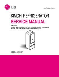 Service Manual LG GR-J303T*