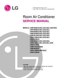 Service Manual LG LWM2130AAG/BAG