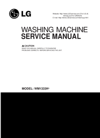 Service Manual LG WM1333H