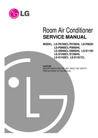 Servicehandboek LG LS-P0760CL