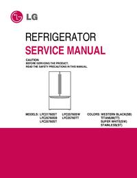 Service Manual LG LFC25760SW