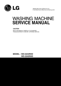 Service Manual LG WD-3243RHD