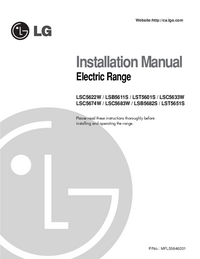 User Manual LG LSC5674W
