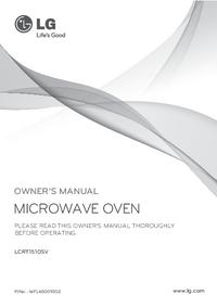 Manuale d'uso LG LCRT1510SV