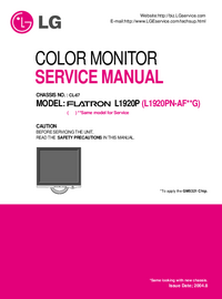Manual de servicio LG CL-67