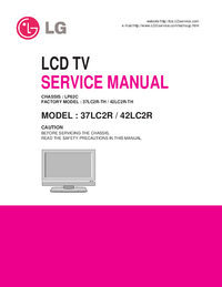 Manual de servicio LG 42LC2R-TH
