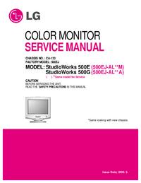 manuel de réparation LG StudioWorks 500G