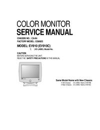 Руководство по техническому обслуживанию LG EV910