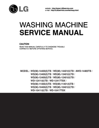 manuel de réparation LG WD-12400