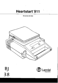 User Manual Laerdal Heartstart 911