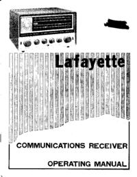 Servicio y Manual del usuario Lafayette HA63