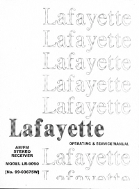 Serwis i User Manual Lafayette LR-9090