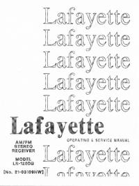 Service- und Bedienungsanleitung Lafayette LR-120DB