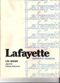Manual do Usuário, Cirquit Diagrama Lafayette LR-9090