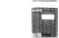 Instrukcja obsługi LeCroy 9350 Series