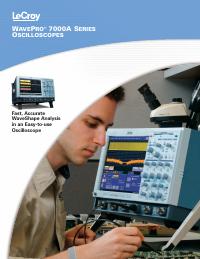 Hoja de datos LeCroy WavePro 7100A