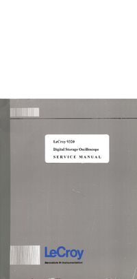 LeCroy-4096-Manual-Page-1-Picture