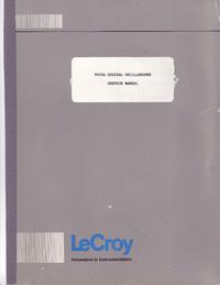 Руководство по техническому обслуживанию LeCroy 9450A