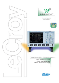 Dane techniczne LeCroy LT372