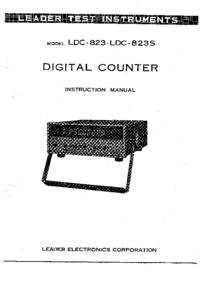 Руководство пользователя, Схема Cirquit Leader LDC-823