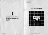 Manual del usuario, Diagrama cirquit Leader LMV-181A
