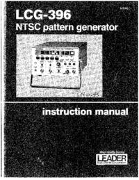 Manuale d'uso Leader LCG-396