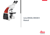 User Manual Leica DM500