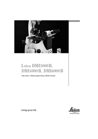 User Manual Leica DMI4000 B