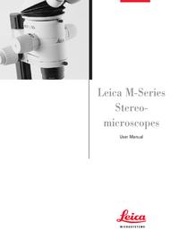 Manual do Usuário Leica MZ75