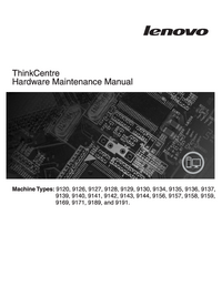 Service Manual Lenovo ThinkCentre 9127