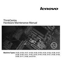 Manual de serviço Lenovo ThinkCentre 9144