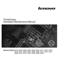 Руководство по техническому обслуживанию Lenovo ThinkCentre 9089