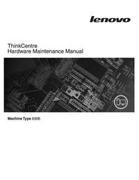 Servicehandboek Lenovo ThinkCentre 6306