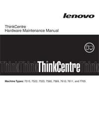 Manual de servicio Lenovo ThinkCentre 7560
