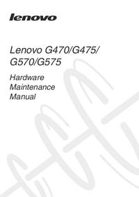 Manual de serviço Lenovo G575