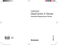 Manual de servicio Lenovo IdeaCentre A Series
