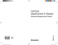 Serviceanleitung Lenovo IdeaCentre A Series
