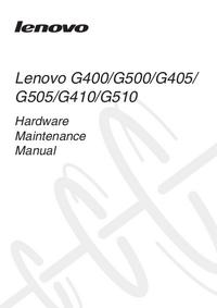 Servicehandboek Lenovo G400