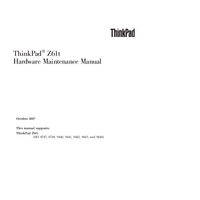 Service Manual Lenovo ThinkPad Z61t