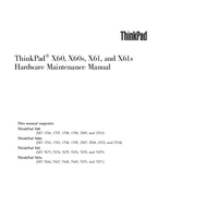 Service Manual Lenovo ThinkPad X61