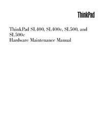 Manual de serviço Lenovo ThinkPad SL400c