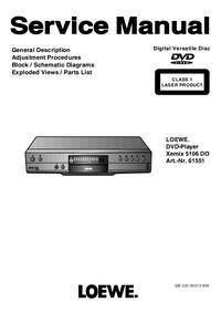 Service Manual Loewe Xemix 5106 DO