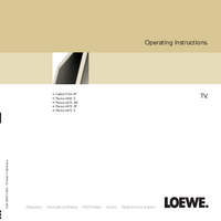 Loewe-86-Manual-Page-1-Picture
