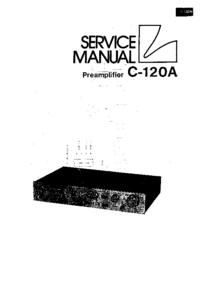 Manual de servicio Luxman C-120A