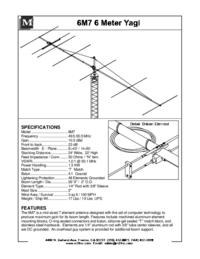 Instrukcja obsługi M2 6M7