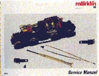 Service et Manuel de l'utilisateur Maerklin Various Locomotive models