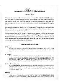 manuel de réparation Marantz 10B