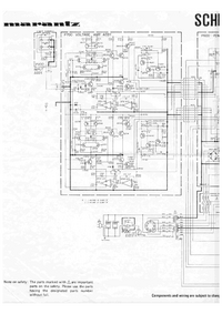 Cirquit Diagram Marantz SM-6